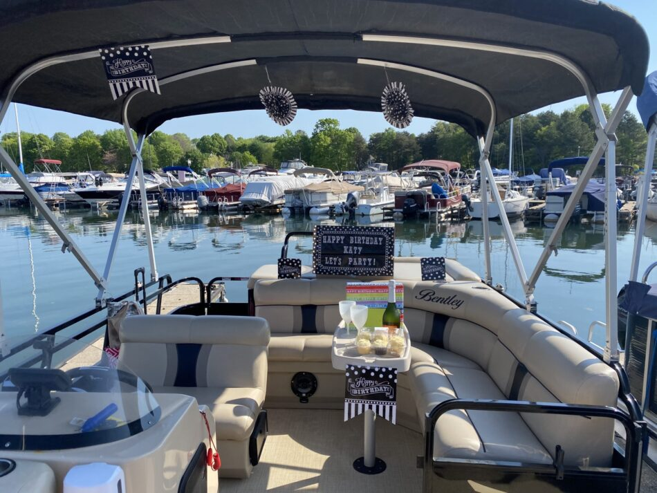 Birthdays are epic with Party Pontoon boat rentals.